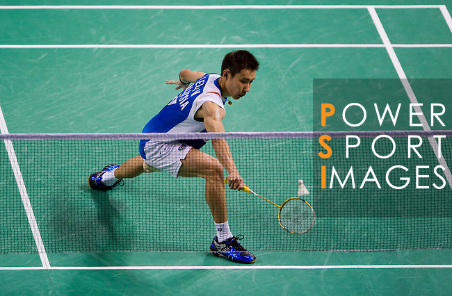29 July 2010, Macau, China --- Yonex's player Lee Chong Wei of Malaysia in action during the Macau Open Grand Prix 2010, wich is part of the Badminton World Federation tournament. Photo by Victor Fraile --- Image by © Victor Fraile.
