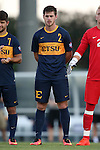 13 September 2016: ETSU's Ben Holt. The University of North Carolina Tar Heels hosted the East Tennessee State University Buccaneers at Fetzer Field in Chapel Hill, North Carolina in a 2016 NCAA Division I Men's Soccer match. ETSU won the game 1-0 in sudden death overtime.