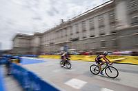 Alec Willmovsky of USA during the 2017 Madrid ITU Triathlon World Cup in Madrid, May 28, 2017. Spain.. (ALTERPHOTOS/Rodrigo Jimenez) /NortePhoto.com
