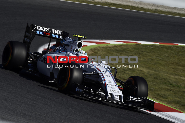 07.05 - 10.05.2015, Circuit de Catalunya, Barcelona, ESP, Formel 1, 2015,  im Bild Valtteri Bottas (FIN), Williams F1 Team<br />  Foto &copy; nph / Mathis