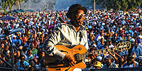 """Once a year some 30 000 People  meet in Mamelodi, west of Pretoria, for a """"South African Heroes Concert"""". Jimmy Dludlu is one of those Heroes. Mamelodi means Mama of Melodis and that Township is the cradle of South African Music, SA 2007"""