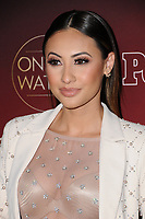 04 October  2017 - Hollywood, California - Francia Raisa. 2017 People's &quot;One's to Watch&quot; Event held at NeueHouse Hollywood in Hollywood. <br /> CAP/ADM/BT<br /> &copy;BT/ADM/Capital Pictures