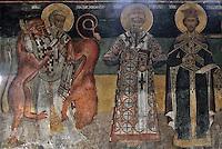 BG61224.JPG BULGARIA, BLACK SEA COAST, NESSEBAR, CHURCH OF ST STEPHAN, 10TH CENTURY, FRESCOS