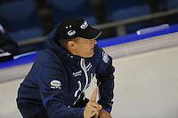 SCHAATSEN: HEERENVEEN; 11-10-2014, IJstadion Thialf, KNSB Trainingswedstrijd, Jillert Anema, ©foto Martin de Jong