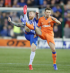 09.02.2019 Kilmarnock v Rangers: Alan Power and Ryan Jack