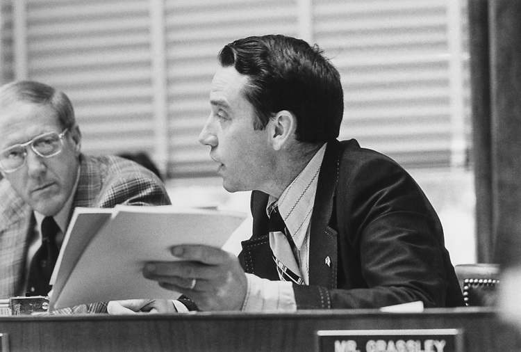 Rep. Chuck Grassley, R-Iowa. 1965 (Photo by CQ Roll Call via Getty Images)