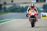 The rider Dani Pedrosa during the MotoGP race at the Grand Prix Sachsenring in Germany. 13/07/2014. Samuel de Roman / Photocall3000