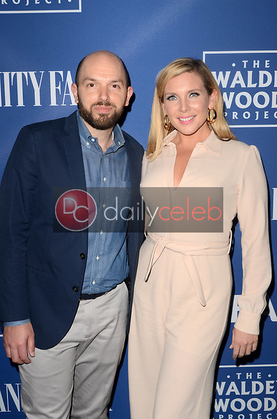 Paul Scheer, June Diane Raphael<br /> Oceana and the Walden Woods Project presents: Rock Under The Stars with Don Henley and Friends, Private Residence, Los Angeles, CA 07-17-17<br /> David Edwards/Dailyceleb.com 818-249-4998