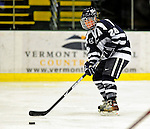 8 February 2009: University of New Hampshire Wildcats' forward Sam Faber, a Senior from Mt. Sinai, NY, in action against the University of Vermont Catamounts in the second game of a weekend series at Gutterson Fieldhouse in Burlington, Vermont. The Wildcats defeated the lady Catamounts 6-2 to sweep the 2-game series. Mandatory Photo Credit: Ed Wolfstein Photo
