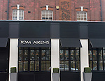 Exterior, Tom Aikins Restaurant, Knightsbridge, London, Great Britain, Europe