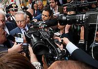 AVELLINO  PRIMA USCITA PER IL NEO SEGRETARIO DEL PARTITO DEMOCRATICO GUGLIELMO EPIFANI A SOSTEGNO DEL CANDIDATO SINDACO.NELLA FOTO GUGLIELMO EPIFANI.FOTO CIRO DE LUCA