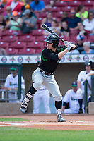 Dayton Dragons center fielder Michael Siani (6) during a Midwest League game against the Cedar Rapids Kernels at Perfect Game Field on May 5, 2019 in Cedar Rapids, Iowa. Cedar Rapids defeated Dayton 4-0. (Zachary Lucy/Four Seam Images)