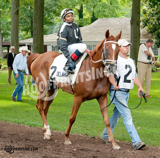 Chevelle SS before The Cre Run Oaks Arabian Stakes (gr 2) at Delaware Park on 8/31/13