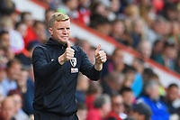 AFC Bournemouth Manager Eddie Howe gives the thumbs up during AFC Bournemouth vs Sheffield United, Premier League Football at the Vitality Stadium on 10th August 2019