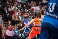 VALENCIA, SPAIN - NOVEMBER 22: Milbourne during Endesa League match between Valencia Basket Club and Retabet.es GBC at Fonteta Stadium on November 22, 2015 in Valencia, Spain