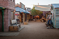 The Wild West Jucntion in Williams Arizona on Route 66.