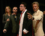 "Actress Barbara Bach, musician Ringo Starr, Roy Horn and Siegfried Fischbacher, of  Siegfried & Roy,  after attending the gala premiere of ""The Beatles LOVE by Cirque du Soleil"" at the Mirage Hotel & Casino June 30, 2006 in Las Vegas, Nevada. The show is a joint artistic venture between The Beatles' company, Apple Corps Ltd., and Cirque du Soleil."