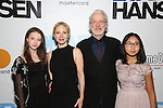 Charlotte d'Amboise and Terrence Mann attends the Broadway Opening Night Performance of 'Dear Evan Hansen'  at The Music Box Theatre on December 4, 2016 in New York City.