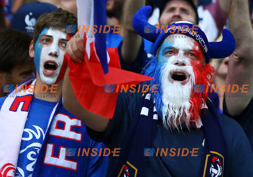 France supporters in the stands Tifosi <br /> Marseille 15-06-2016 Stade Velodrome Footballl Euro2016 France - Albania / Francia - Albania Group Stage Group A. Foto Matteo Ciambelli / Insidefoto