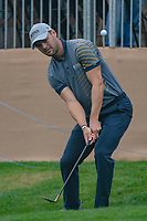 Martin Kaymer (GER) chips up tight on 18 during day 3 of the Valero Texas Open, at the TPC San Antonio Oaks Course, San Antonio, Texas, USA. 4/6/2019.<br /> Picture: Golffile | Ken Murray<br /> <br /> <br /> All photo usage must carry mandatory copyright credit (&copy; Golffile | Ken Murray)
