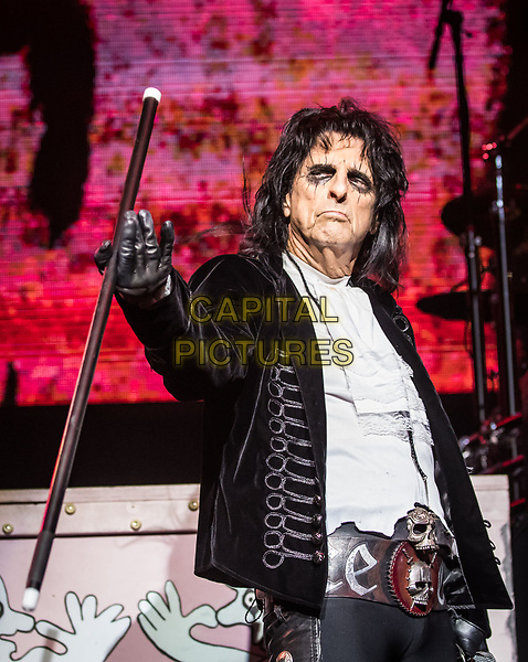 LAS VEGAS, NV - August 12, 2017: ***HOUSE COVERAGE*** Alice Cooper   at The Chelsea at The Cosmopolitan of Las Vegas in Las Vegas, NV on August 12, 2017. <br /> CAP/MPI/EKP<br /> &copy;EKP/MPI/Capital Pictures