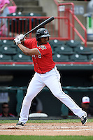 Erie Seawolves third baseman Francisco Martinez (20) at bat during a game against the Binghamton Mets on July 13, 2014 at Jerry Uht Park in Erie, Pennsylvania.  Binghamton defeated Erie 5-4.  (Mike Janes/Four Seam Images)