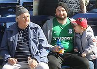 Preston North End's Fans anticipate the kick-off<br /> <br /> Photographer Mick Walker/CameraSport<br /> <br /> The EFL Sky Bet Championship - Preston North End v Brentford - Saturday September 14th 2019 - Deepdale Stadium - Preston<br /> <br /> World Copyright © 2019 CameraSport. All rights reserved. 43 Linden Ave. Countesthorpe. Leicester. England. LE8 5PG - Tel: +44 (0) 116 277 4147 - admin@camerasport.com - www.camerasport.com