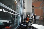 MITO per la citta, appuntamenti musicali itineranti per Settembre Musica. Il gruppo dei Tritono nell'atrio della Stazione di Porta Nuova.