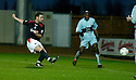 01/01/2005  Copyright Pic : James Stewart.File Name : jspa03_falkirk_v_raith-rovers.ANDY THOMSON SCORES FALKIRK'S SECOND...Payments to :.James Stewart Photo Agency 19 Carronlea Drive, Falkirk. FK2 8DN      Vat Reg No. 607 6932 25.Office     : +44 (0)1324 570906     .Mobile   : +44 (0)7721 416997.Fax         : +44 (0)1324 570906.E-mail  :  jim@jspa.co.uk.If you require further information then contact Jim Stewart on any of the numbers above.........