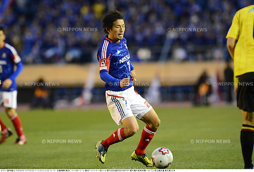 Shingo Hyodo (F Marinos), DECEMBER 29, 2012 - Football / Soccer : The 92nd Emperor's Cup, Semi-final match between Yokohama F Marinos 0-1 Kashiwa Reysol at National Stadium in Tokyo, Japan. (Photo by Takamoto Tokuhara/AFLO)