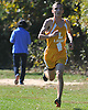 Skyler Lattuca of Longwood legs out the final stretch of the varsity Boys A race during the 50th Annual Nassau Coach Cross Country Invitational at Bethpage State Park on Saturday, Oct. 15, 2016.