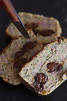 Europe/France/Auvergne/15/Cantal/ Saint-Flour: Pounti recette de Francis Delmas du Restaurant L'Ander