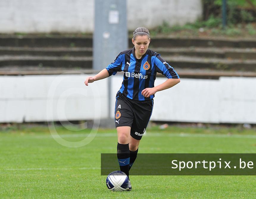 Club Brugge Dames : Elien Van Wynendaele.foto DAVID CATRY / Vrouwenteam.be