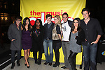 Kevin McHale, Jenna UshKowitz, Amber Riley, Chris Colfer, Dianna Agron, Mark Salling, Lea Michele & Cory Monteith celebrating the release of the smash hit CD, glee - the music season one with an appearance at Borders Columbus Circle in New York City. November 3, 2009