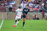 Stanford, California - June 27, 2015: The San Jose Earthquakes defeated LA Galaxy 3-1 during the California Clasico at Stanford Stadium.