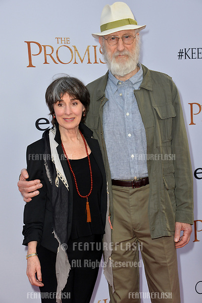 James Cromwell &amp; Anna Stuart at the premiere for &quot;The Promise&quot; at the TCL Chinese Theatre, Hollywood. Los Angeles, USA 12 April  2017<br /> Picture: Paul Smith/Featureflash/SilverHub 0208 004 5359 sales@silverhubmedia.com