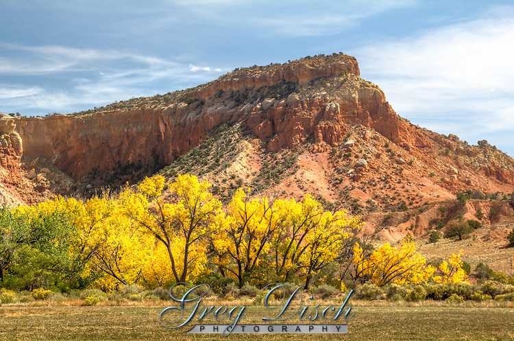 Ghost Ranch where the artist Georgia O'Keeffe lived and painted for neary 50 years. Ghost Ranch has been a national education and retreat center owned by the Presbyterian Church.