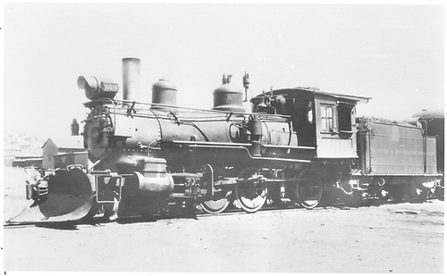 3/4 fireman's-side view of engine #169.<br /> D&amp;RGW  Santa Fe, NM  Taken by Perry, Otto C. - 1933