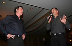 "Guiding Light's Frank Dicopoulos and Robert Newman join fans of Guiding Light as they raise dollars for charity at the Young Women's Breast Cancer Foundation event - Reach to Recovery - ""Spring into Shape!"" Luncheon and Fashion Show on April 6, 2008 at Embassy Suites, Coraopolis, Pennsylvania. The event also included a Chinese Auction and an autograph session with the Guiding Light actors. (Photo by Sue Coflin/Max Photos)"