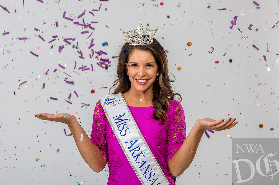 NWA Democrat-Gazette/JASON IVESTER<br /> Miss Arkansas 2015 Loren McDaniel; photographed on Friday, July 17, 2015, in the Springdale office for profile
