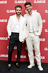 Spanish influencer Pelayo Diaz (l) and his husband Andy McDougall during the Dinner of Glamour Magazine in Honor of Chiara Ferragni. June 27, 2019. (ALTERPHOTOS/Acero)
