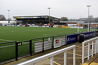 General view of the Main Stand during Bromley vs Dagenham & Redbridge, Vanarama National League Football at the H2T Group Stadium on 24th November 2018