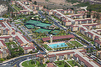 Park Newport Apartments Aerial Stock Photo