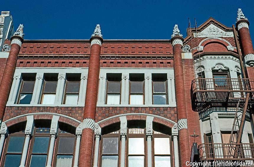 San Diego: Newsmith-Greeley Building, 1888. Photo '81.