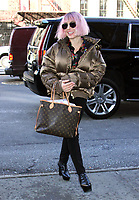 JAN 15 Noomi Rapace seen in NYC