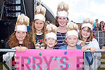 Ruth and Grace McCarthy, Eimhin and Saoirse Morgan Fennessy,Ava Carr and Lilly Templeton all Ballybunion pictured at the JEDWARD concert as part of the Atlantic Music Sessions Festival in Ballybunion on Sunday..