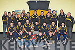 Crokes u14 players who received their medals at the Dr Crokes juvenile awards ceremony in their clubhouse on Friday night front row l-r: Aidan O'Shea, Denis Fleming, Michael Buckley, Donie Clifford. Middle row: Gavin White, Shane Lyne, Jason O'Sullivan, Michea?l Byrnes, Brian Fitzgerald, David Harnett, Jordon Kiely. Back row: Noel White, Jack Lenihan, Ger O'Shea, Mark O'Shea, John Kerrisk, James Lyne, Chris Doncel, Macdara de Bhillis, Darren O'Doherty, Johnny O'Leary, Brian Clarke, Paul Clarke, Der Brosnan and Seamie Doherty .