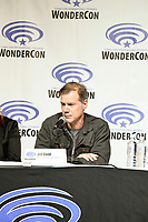 Jeff Bond at Wondercon in Anaheim Ca. March 31, 2019