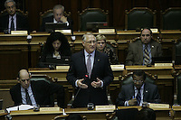Montreal (Qc) CANADA - March 23 2010 - Montreal  city council meetings held inside the City HallGerald Tremblay, Mayor, Montreal