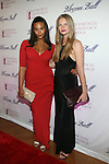 Models Marquita Pring and Danielle Redma The 6th Annual Blossom Ball Hosted By Padma Lakshmi and Tamer Seckin, MD at 583 Park, NY